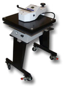 GeoKnight DK25SP 20x25 Air Operated Digital Swing-Away Press