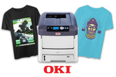 OKI 8432WT - Color + White Heat Transfer Printer - Tabloid Size