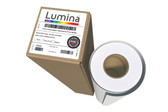 Lumina 7253 - Intermediate, Semi-Rigid, Matte White Calendered Print Film w/Permanent Adhesive - (5-year, 6.1 Mil)