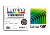 Lumina 7262 - Static Cling Calendered Window Print Film - (3-months, 7.5 Mil - White & Clear) - 30""