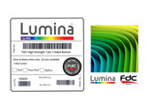 Lumina 7501 - 13oz High Strength 1-Sided Banner - 54""