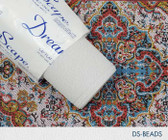 "Dreamscape White Texture Beads Wallcovering  - (54""x100YD)"
