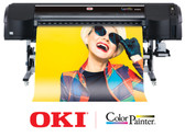 "OkiData ColorPainter E-64s 6-color, 64"" printer with SX Inks  - January 2020 Instant Rebate of $2,000.00!"