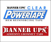"Banner Ups Single Sided Clear Power Tape (1-1/2"" x 36YDS)"