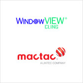 "Mactac IMAGin Window View Cling Print Film - 54""x150ft"