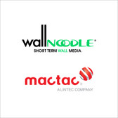 Mactac IMAGin Wall Noodle Short Term Ultra Removable and Repositionable, Microsphere Acrylic Adhesive
