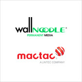 Mactac IMAGin Wall Noodle with >> PERMANENT << Adhesive - (Wall Poodle)