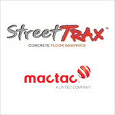 "Mactac StreetTrax Concrete Graphic Print Media - 54""x150ft Roll"