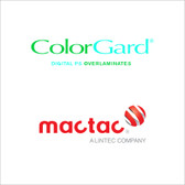 Mactac PermaColor ColorGard LUV 8000 Series Overlaminate