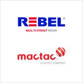 """Mactac Rebel 5-Year High Performance Calendered Print Media - 54"""" & 60"""""""