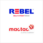 Mactac Rebel 5-Year High Tack Matte White  AND Gloss Clear Print Media