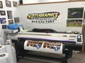 Used Mimaki JV300-160 with 8-Colors (By Customer)