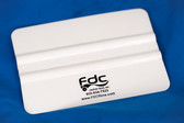 FDC White Plastic Squeegee