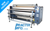 "Practix OK-16 Rotary Sublimation Press (66"" - 128"" Cut-Parts-Model)"
