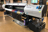 "Mimaki UJV55-320 UV Curable Roll-fed Printer (128"" Wide) - USED"