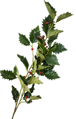 HOLLY BERRY SPRAY - RED/GREEN - 41""