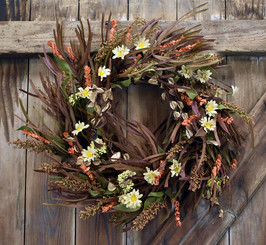 MOUNTAIN FIELDS WREATH - 24""