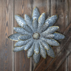 METAL FLOWER - DAISY - 16.9""