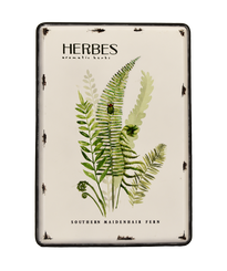 METAL ART - HERBS - 13.5 X 19.6""