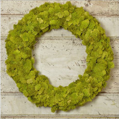 REINDEER MOSS WREATH PACKED 1