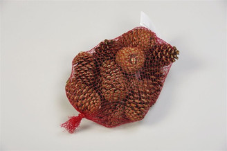 CINNAMON CONE MESH BAG 12 PCS - PACKED 18