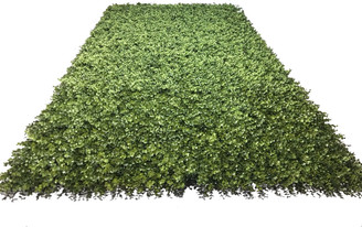 FAUX BOXWOOD ROLL 4' X 8'