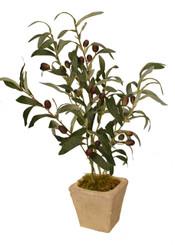 "FAUX OLIVE TREE 18"""