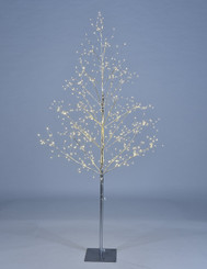 STARLIT TREE 5 FT - SILVER