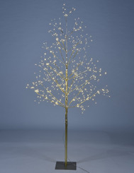 STARLIT TREE 5 FT - GOLD
