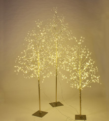 STARLIT TREE GOLD - SET/3 - 4', 5', 6'