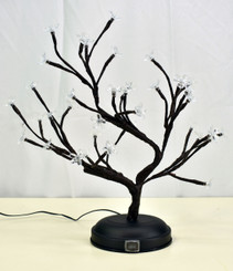 LED BONSAI S SHAPE TREE - 16""