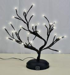 """LED BONSAI S SHAPE TREE - 16"""""""