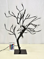 "LED BONSAI Z SHAP TREE 18"" - RGB"
