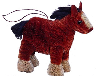 HANDMADE ORNAMENT - HORSE - SHIRE
