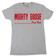 Mighty Goose - Red on Grey