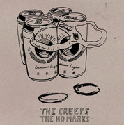 "7"" split The Creeps / The No Marks (All In Vinyl)"