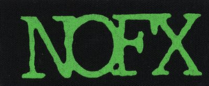 Patch NOFX logo