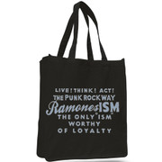 Tote bag Ramonesism black