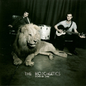 The_Mojomatics_Down_my_spine_single_cover_striped_music