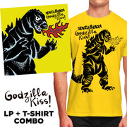 "LP + T-shirt PACK Senzabenza ""Godzilla Kiss!"""