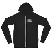 Zip Hoodie Unisex Striped Lookout! Records