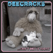 "7"" DeeCracks ""...Can't Get It Right"" Striped Records Badman Records"
