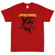 T-Shirt Andrea Manges And The Veterans shark
