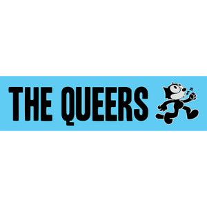 The Queers logo sticker
