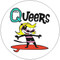 The Queers Surf Goddess sticker