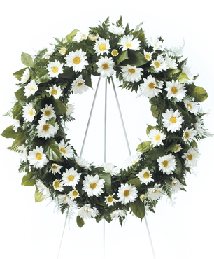 Field of Daisies Wreath
