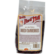 Bobs Red Mill, Dried Cranberries, 16 oz (453 g)