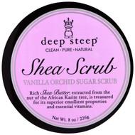 Deep Steep, Shea Scrub Vanilla Orchid Sugar Scrub, 8 oz (226 g)