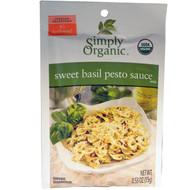 Simply Organic, Sweet Basil Pesto Sauce Mix, 12 Packets, 0.53 oz (15 g) Each