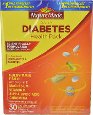 Nature Made Diabetes Health Pack -- 30 Packs